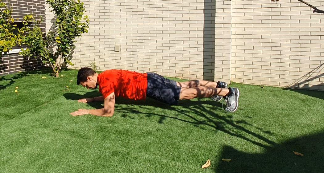 Yo entreno en casa / Día 18: entrenamiento con estabilización de caderas