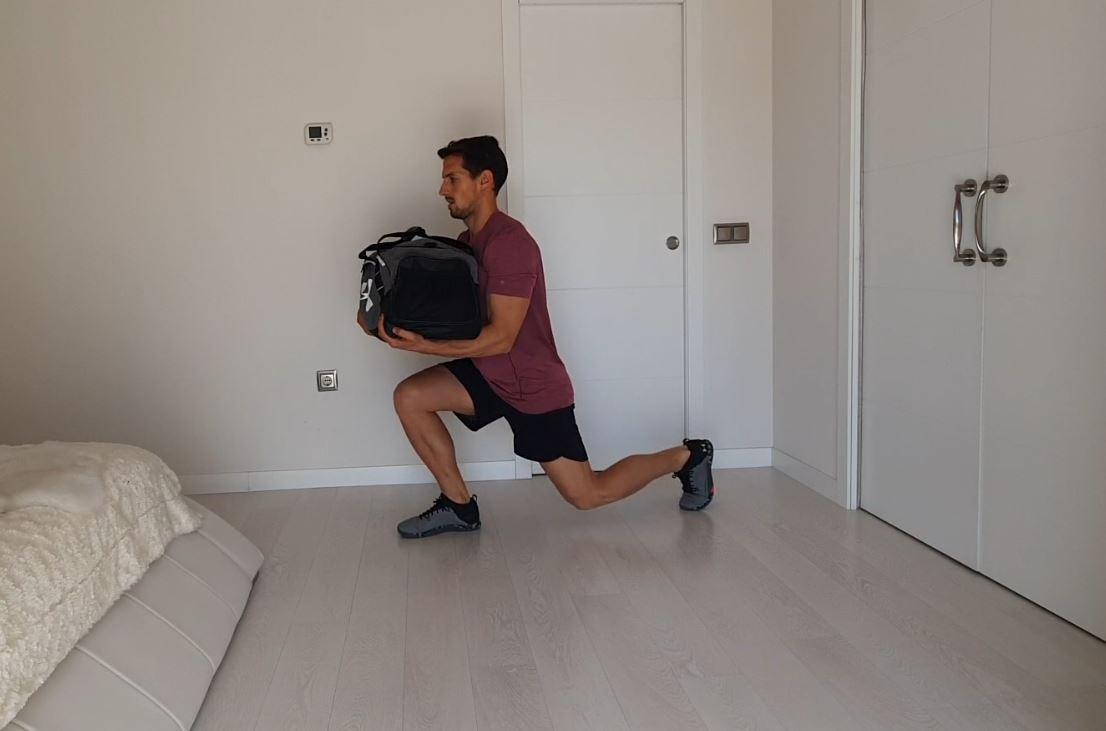Yo entreno en casa / Día 22: Entrenamiento con mochila