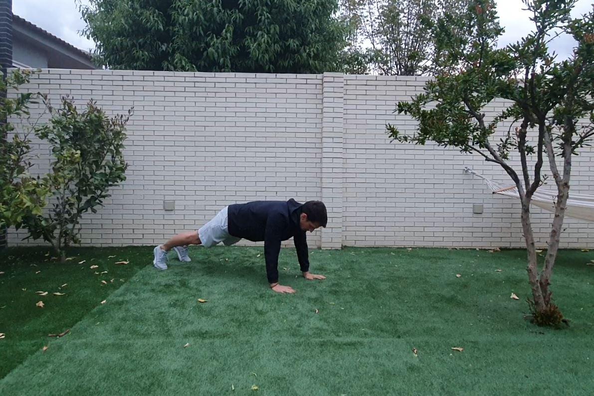 Yo entreno en casa / Día 33: Rutina con el propio peso