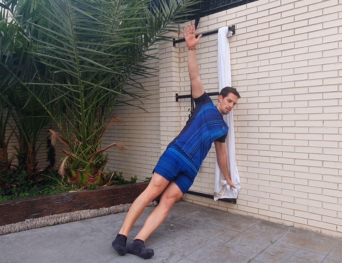 Yo entreno en casa / Día 39: entrenamiento de core en suspensión