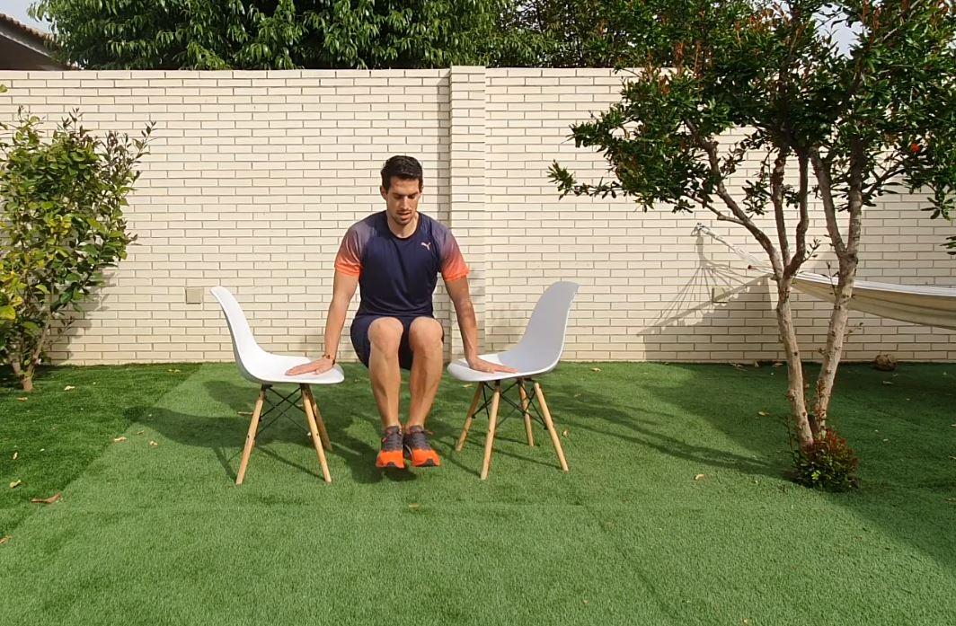 Yo entreno en casa / Día 43: Entrenamiento con sillas